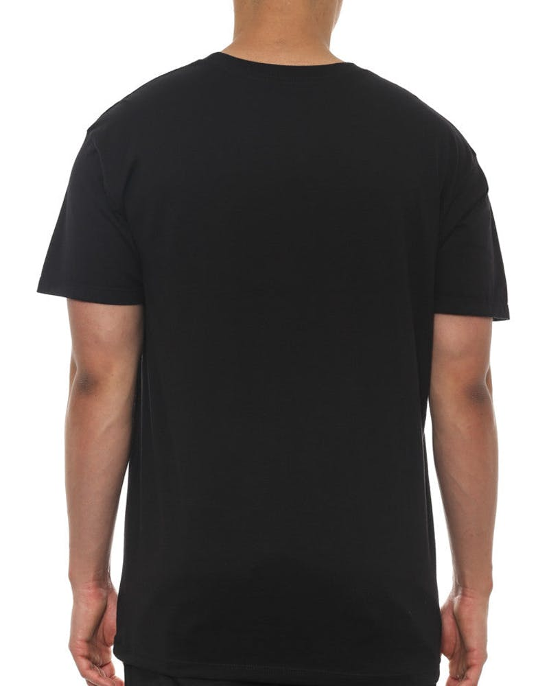 Scissor Sketch Tee Black
