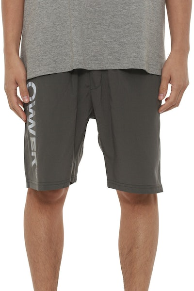 Mens Gym Short Grey