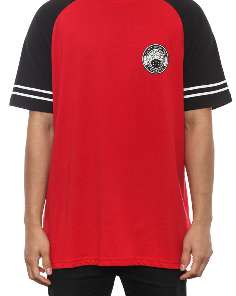 Bandito Raglan Red/black