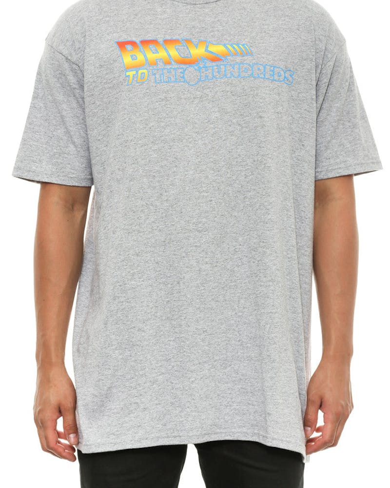 Back to the Hundreds Tee Grey Heather