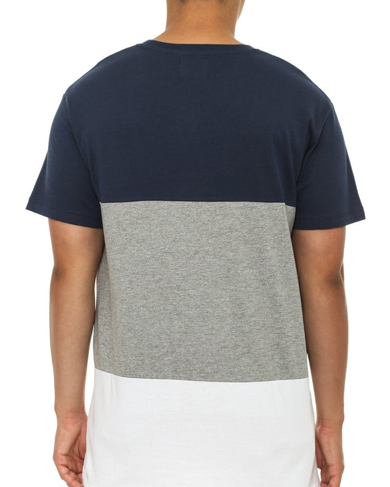 Vitesse Panel T Navy/grey/white