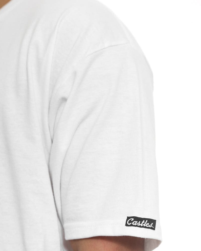 Bandito Medusa Pocket Tee White