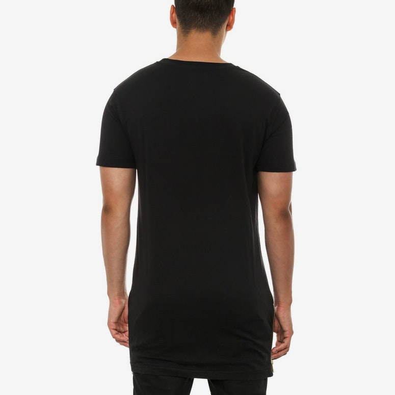 Rose Panel Inset Capone T Black