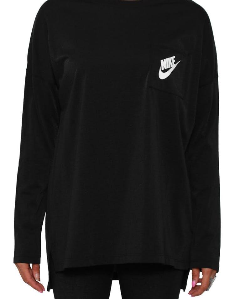 dcf1c45b Nike Women's Signal Long Sleeve Tee Black/white – Culture Kings