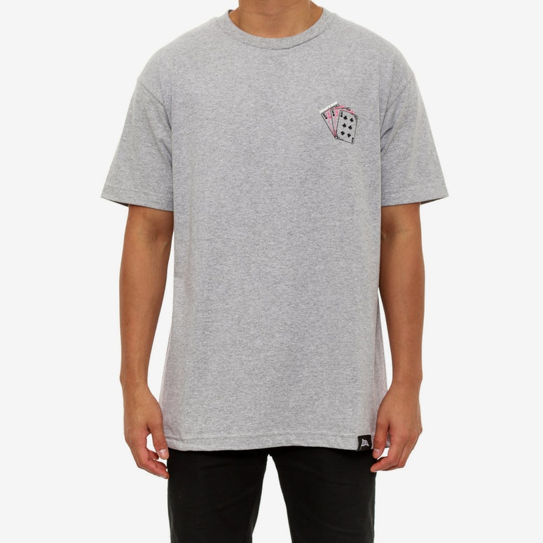Devils Hand SS T Grey