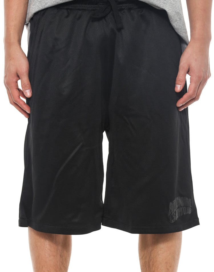 Arch Logo Mesh Shorts Black