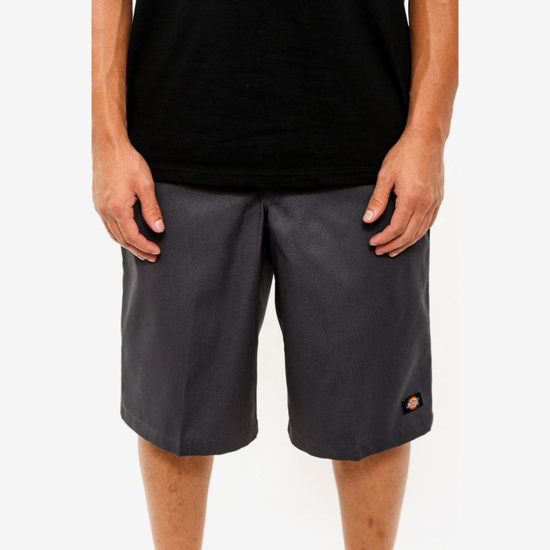 Multi Pocket Work Short Charcoal