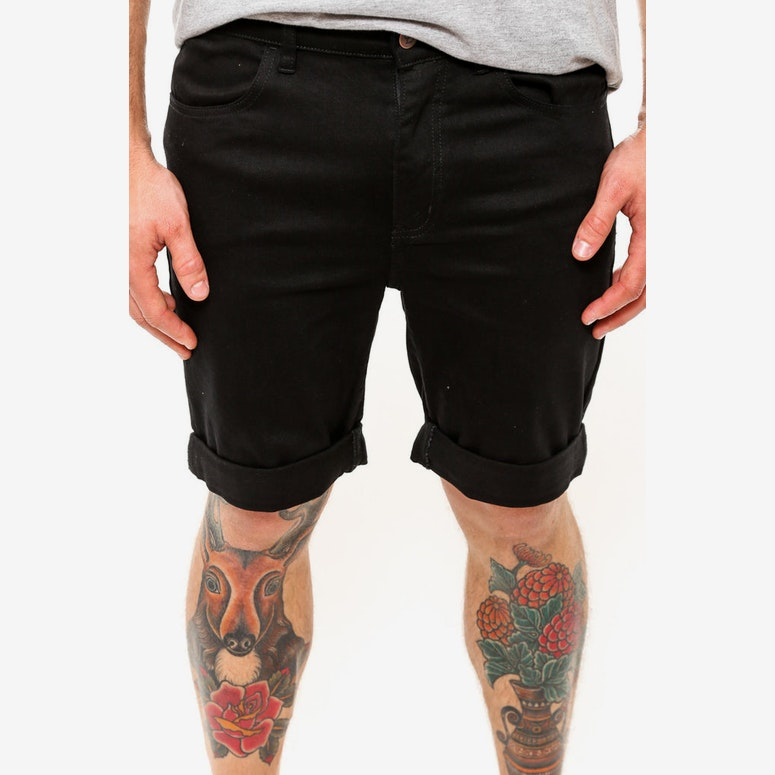Leaner Cuffed Short S14 Black