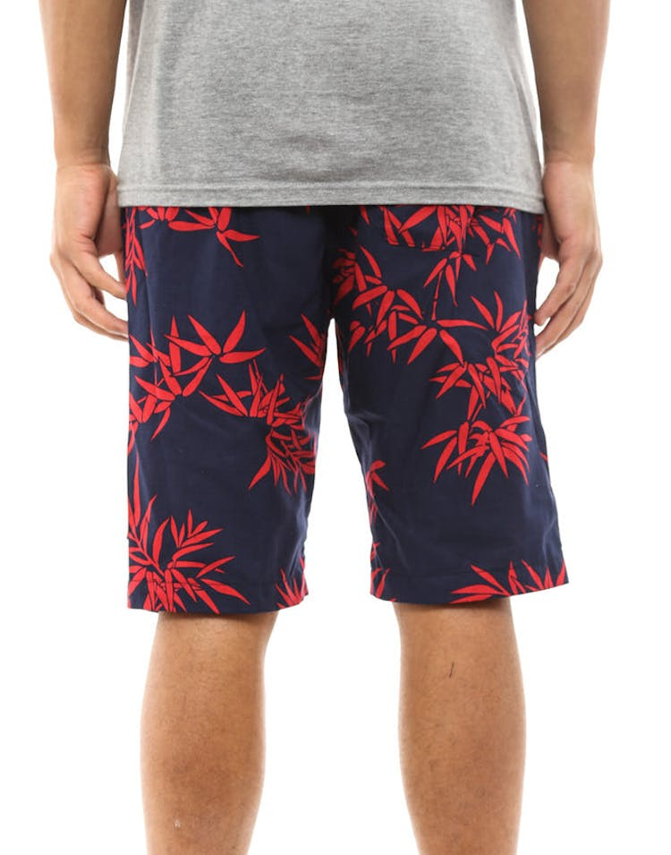 Bamboo Easy Short Navy/red