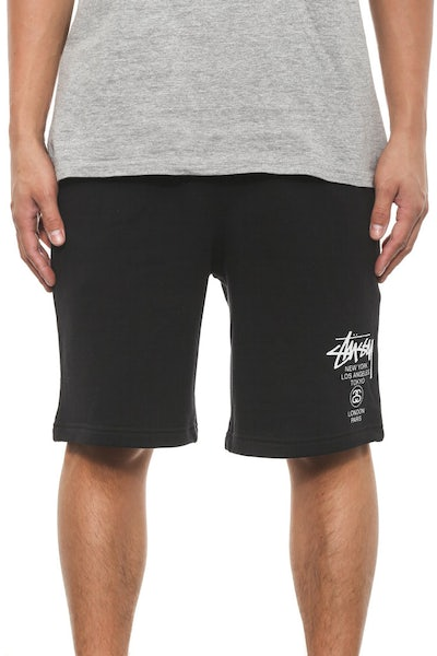 Cities Fleece Short Black