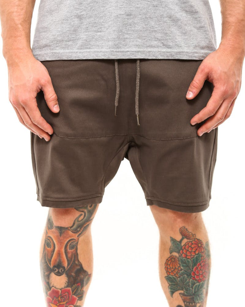 Para Short 2 Grey Heather
