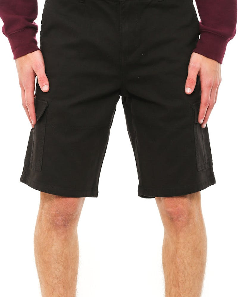 Cavilary Cargo Short Black