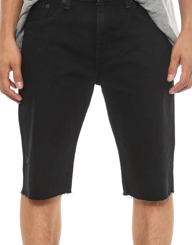 Levi 511 Denim Short Slim Black