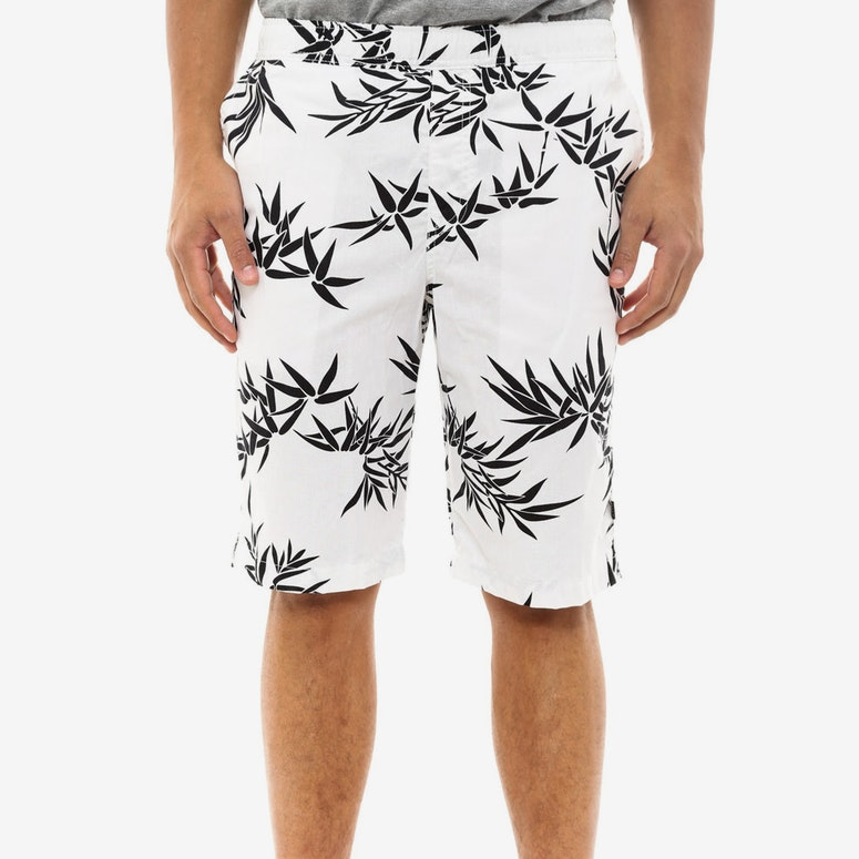 Bamboo Easy Short White/black