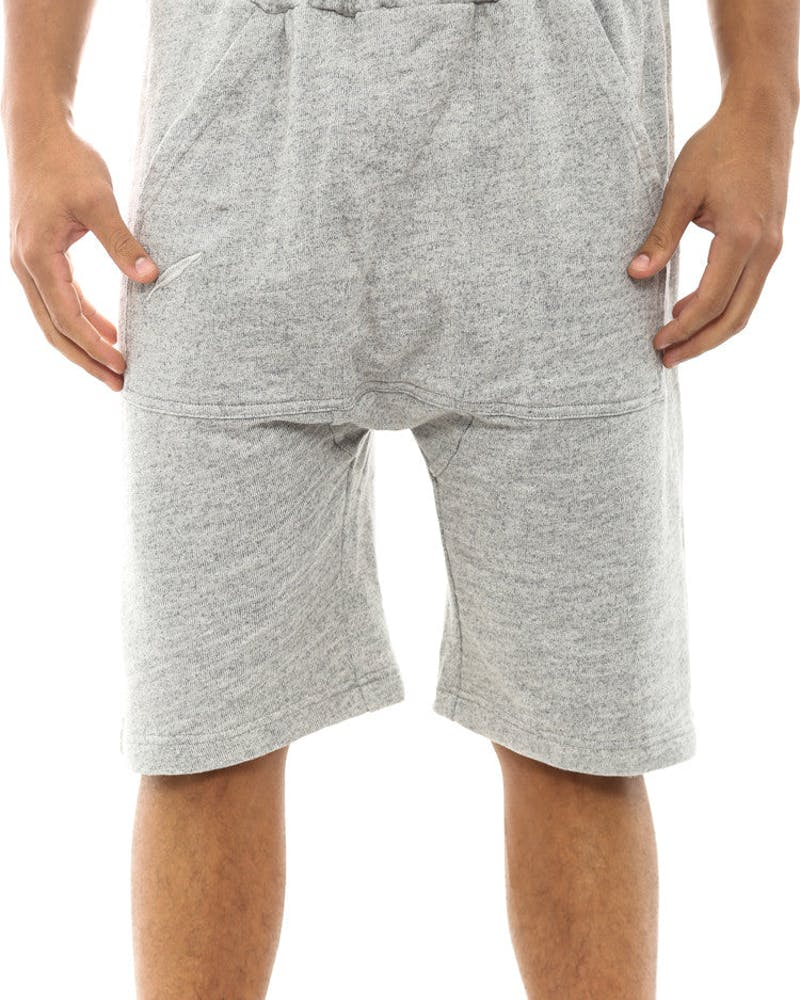 Chase French Terry Short Heather Grey
