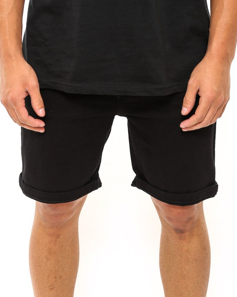 Perfect Shorts Emb D Plus Black/black