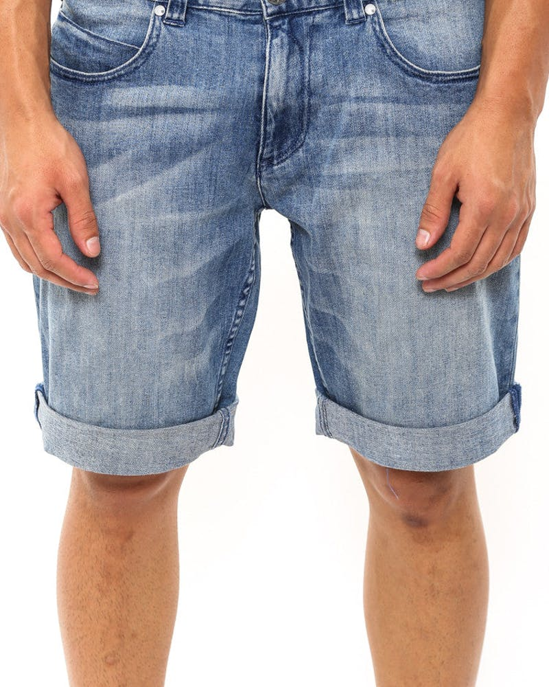 Downtown Denim Short Indigo