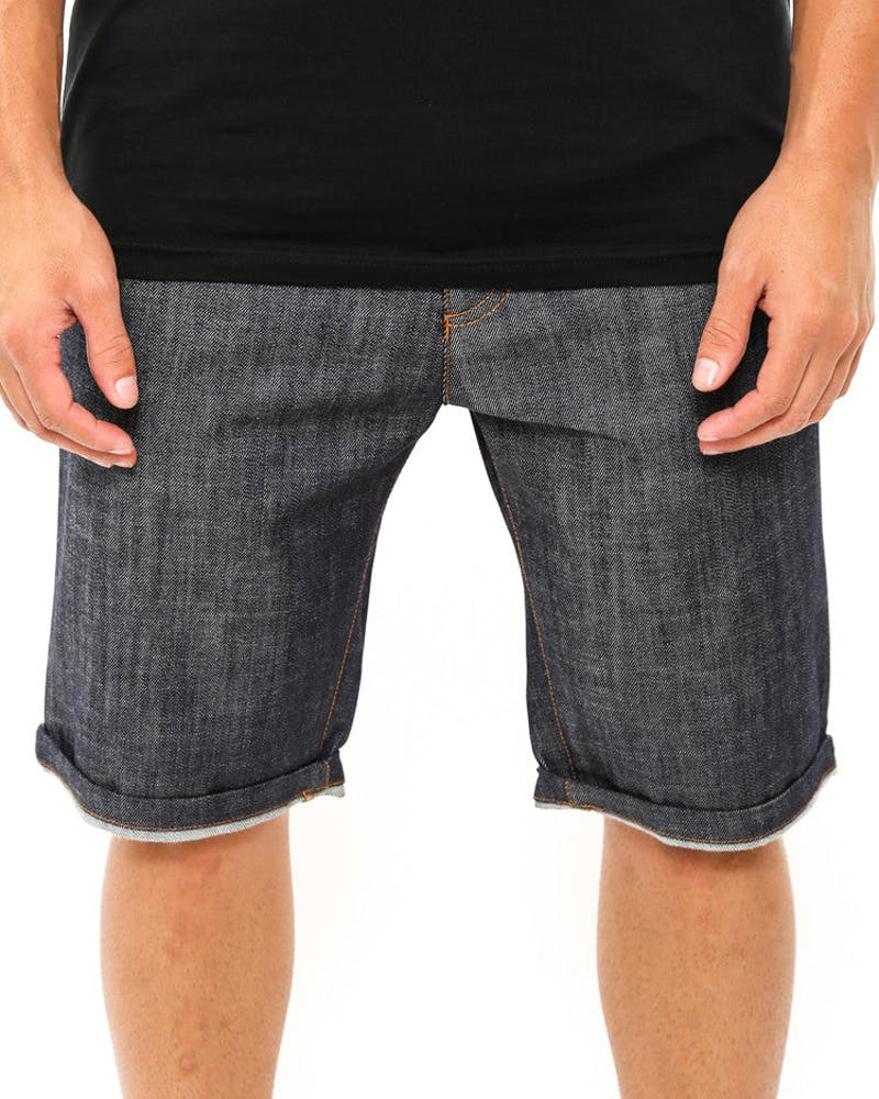Any-thing Short Indigo