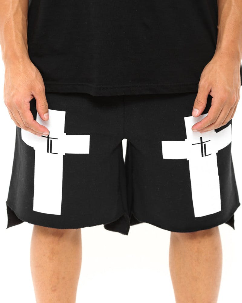 Trap Lord Shorts Black