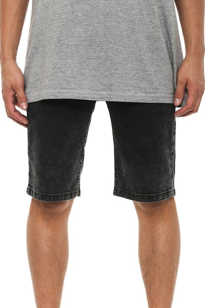 Brooklyn Denim Short Acid Black