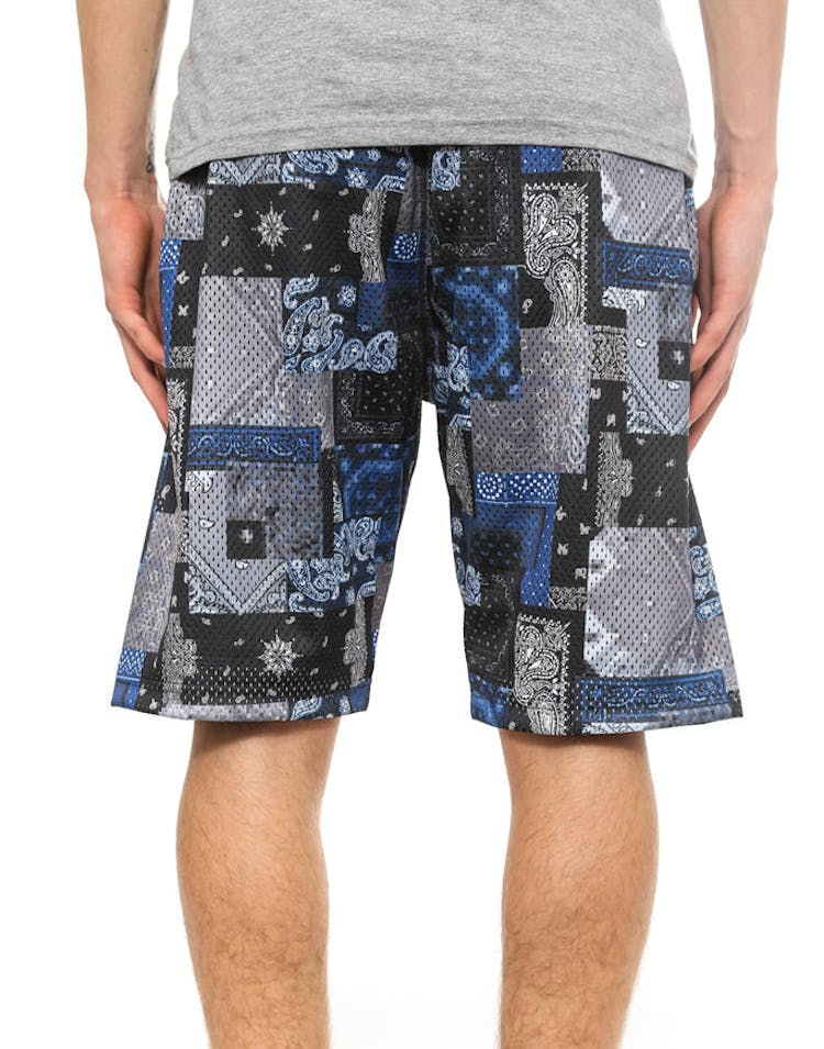Luxe Bandit B.ball Short Black/multi-col