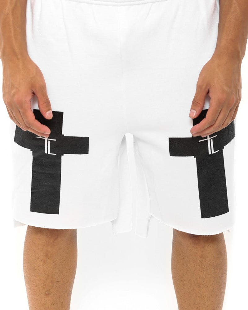 Trap Lord Shorts White