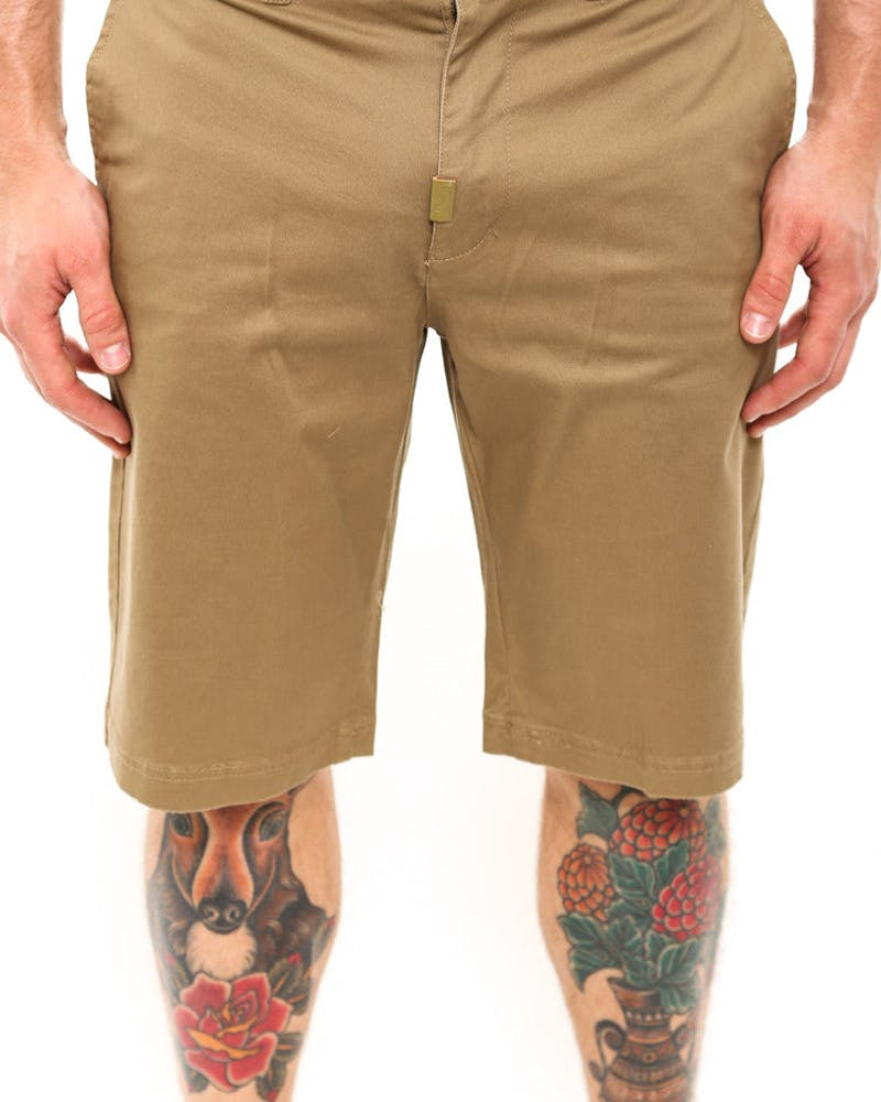 Chino Shorts Dark Khaki