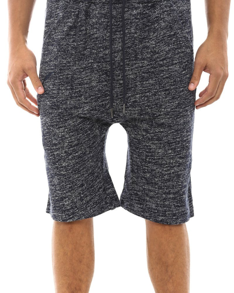 Chase French Terry Short Navy