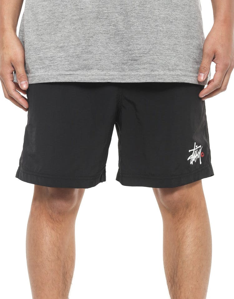 Basic Nylon Surfshort Black