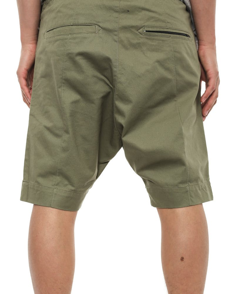 Cyamo Short Army Green/brow