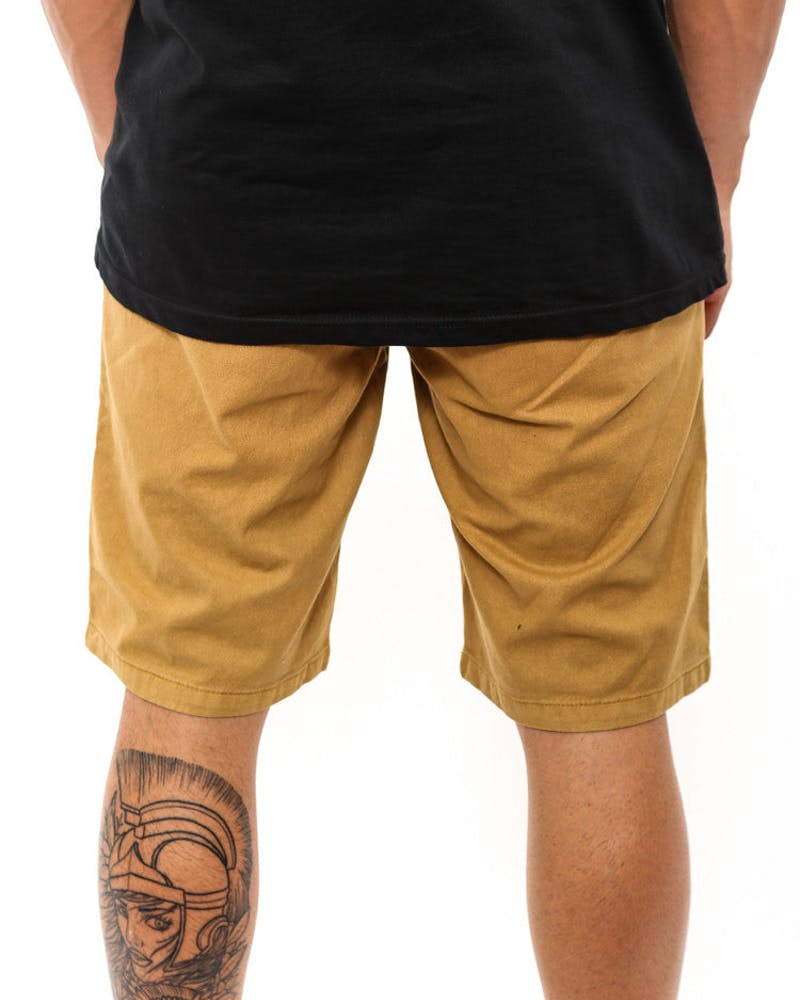 Brooklyn Chino Short Gold
