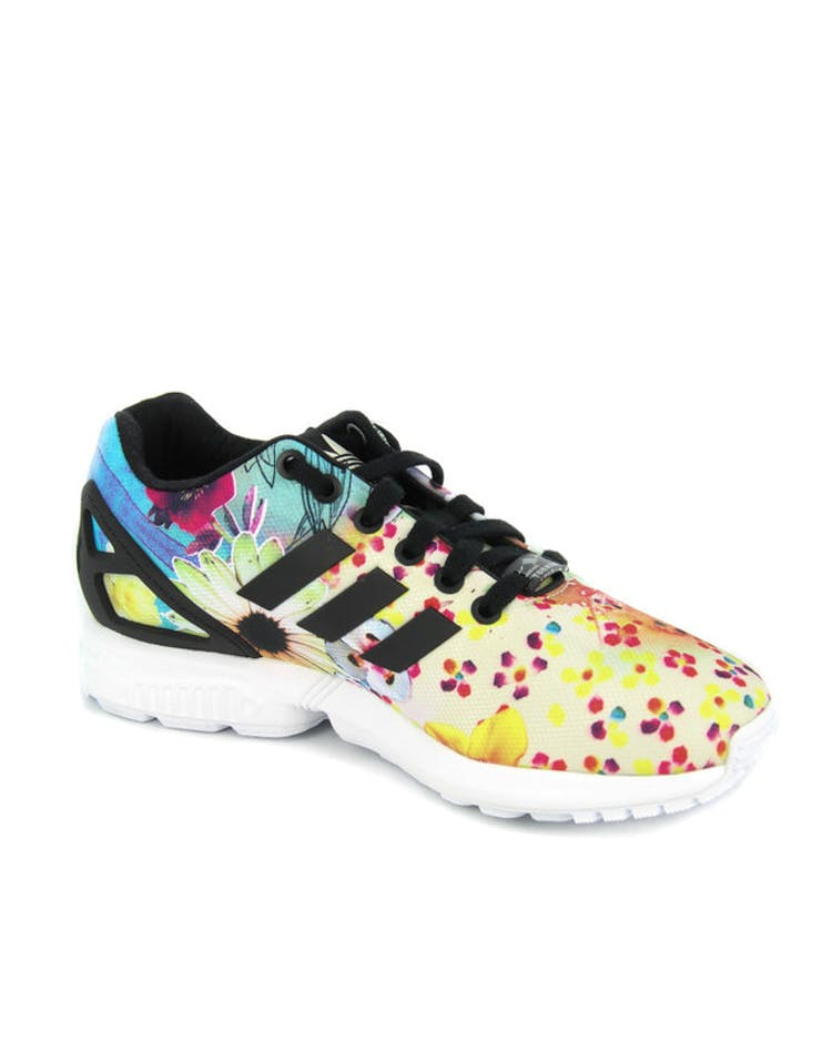 a2300eaa51dd8 Adidas Originals Womens ZX Flux Floral/black – Culture Kings