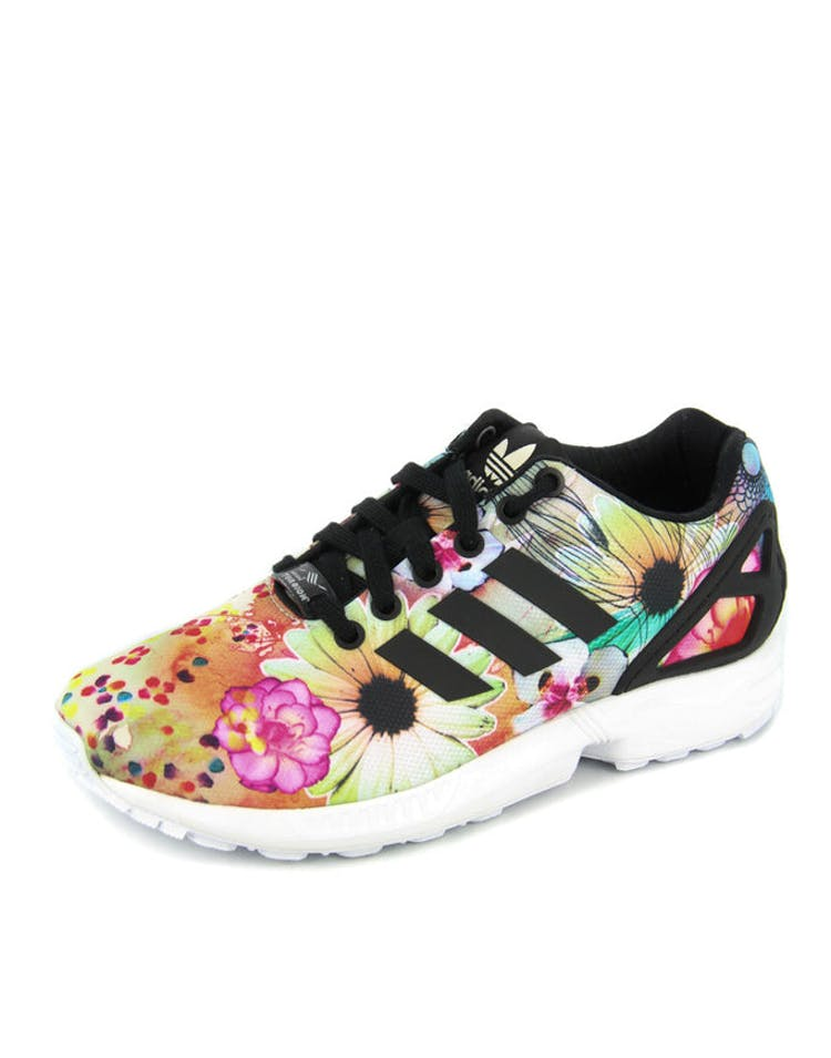 7fc02147cb8b2 Adidas Originals Womens ZX Flux Floral black – Culture Kings