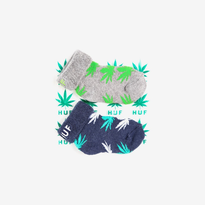 Seeds Socks 2pack Heather Grey/na