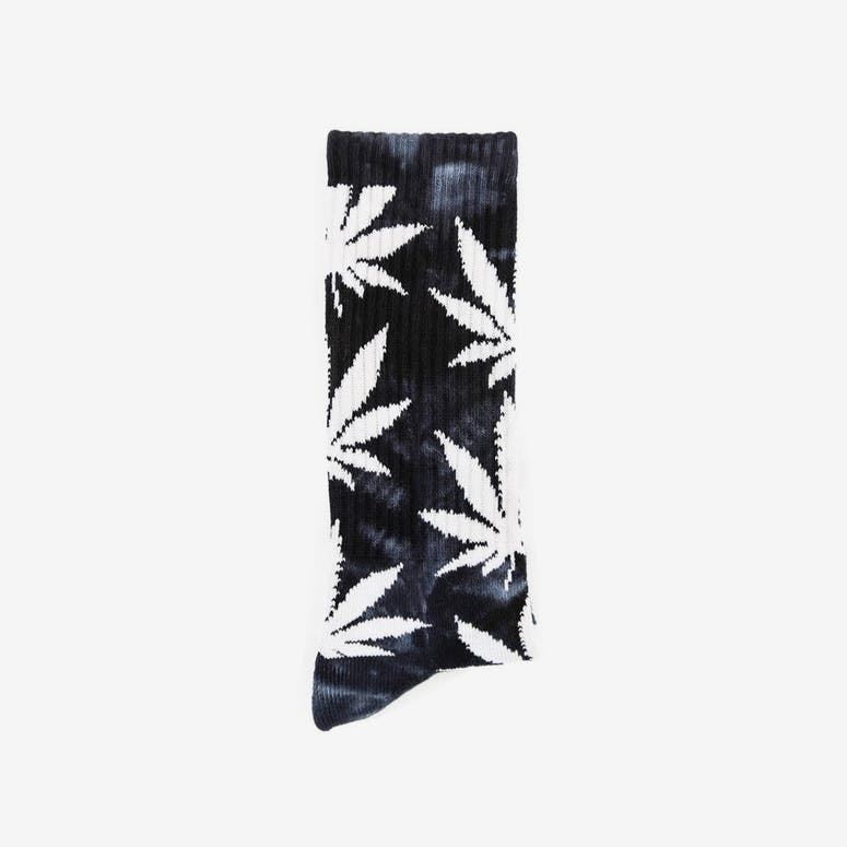Tie Dye Plantlife Socks Black/white