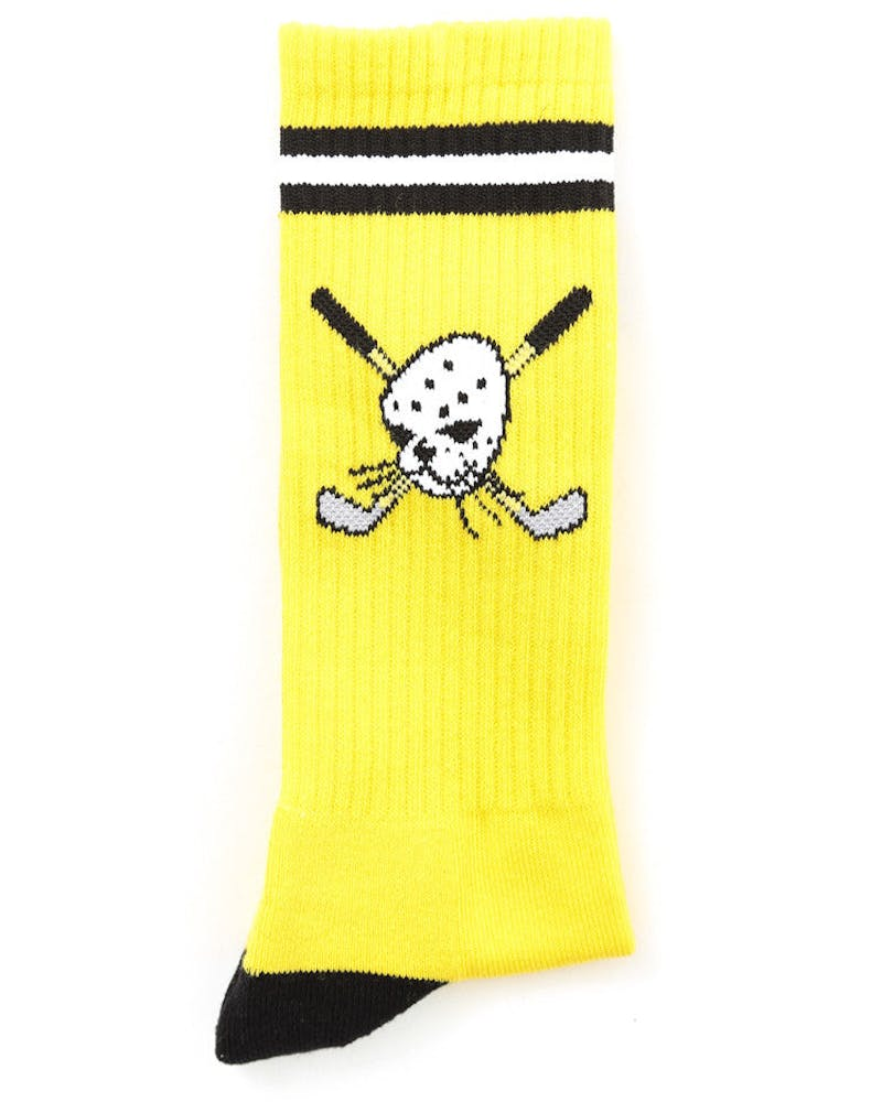 Hockey Socks Yellow