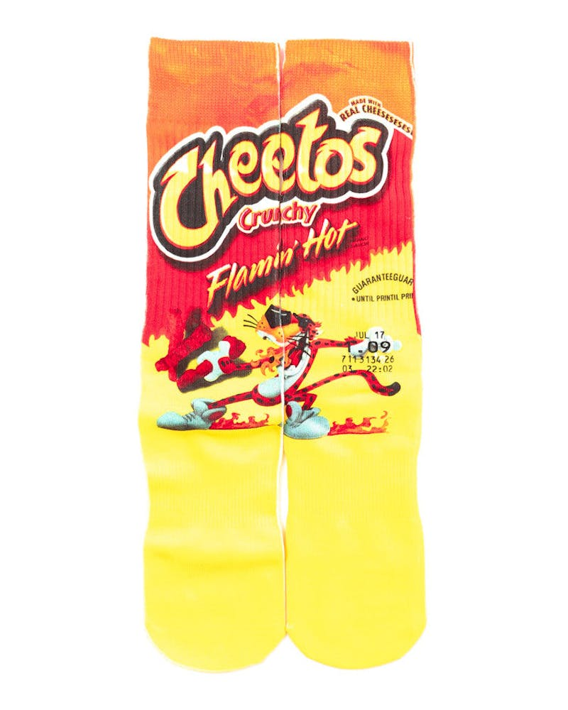 Cheetos Sock Red
