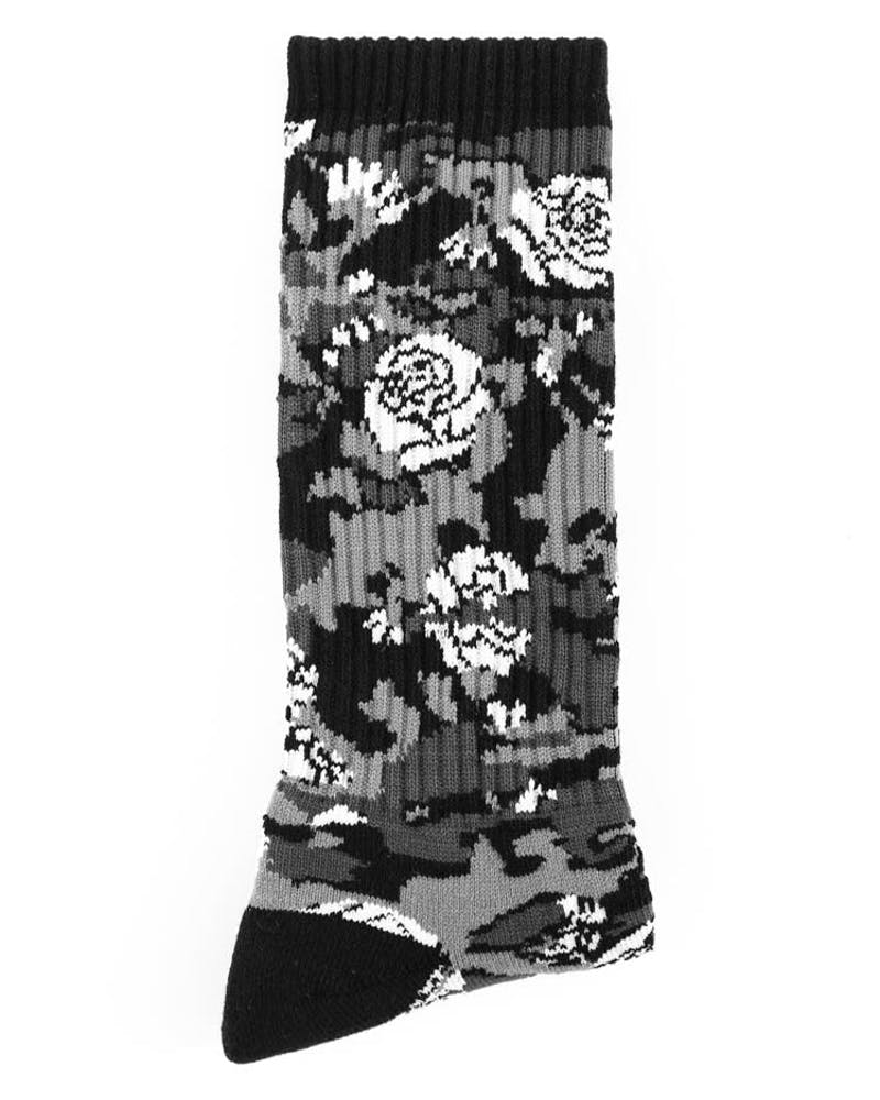 Motivation Camo Socks Black
