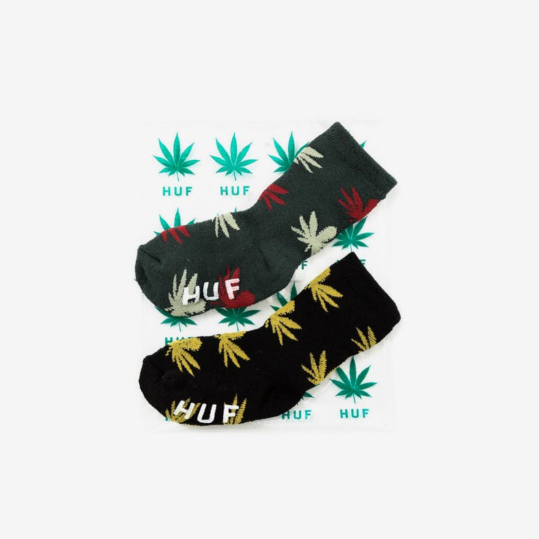 Sprout Sock Black/yellow/fo