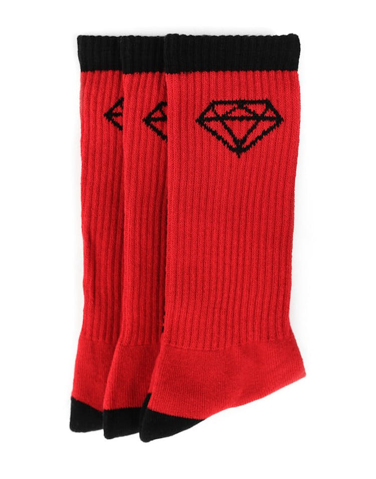 HI OG Logo Sock Red/black