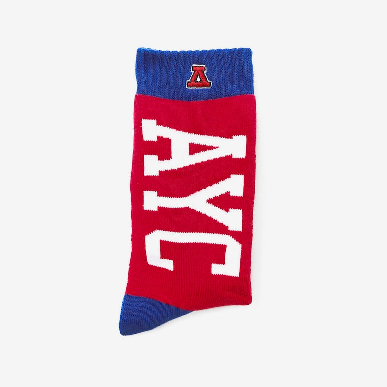 Ayc Usa Sock Red