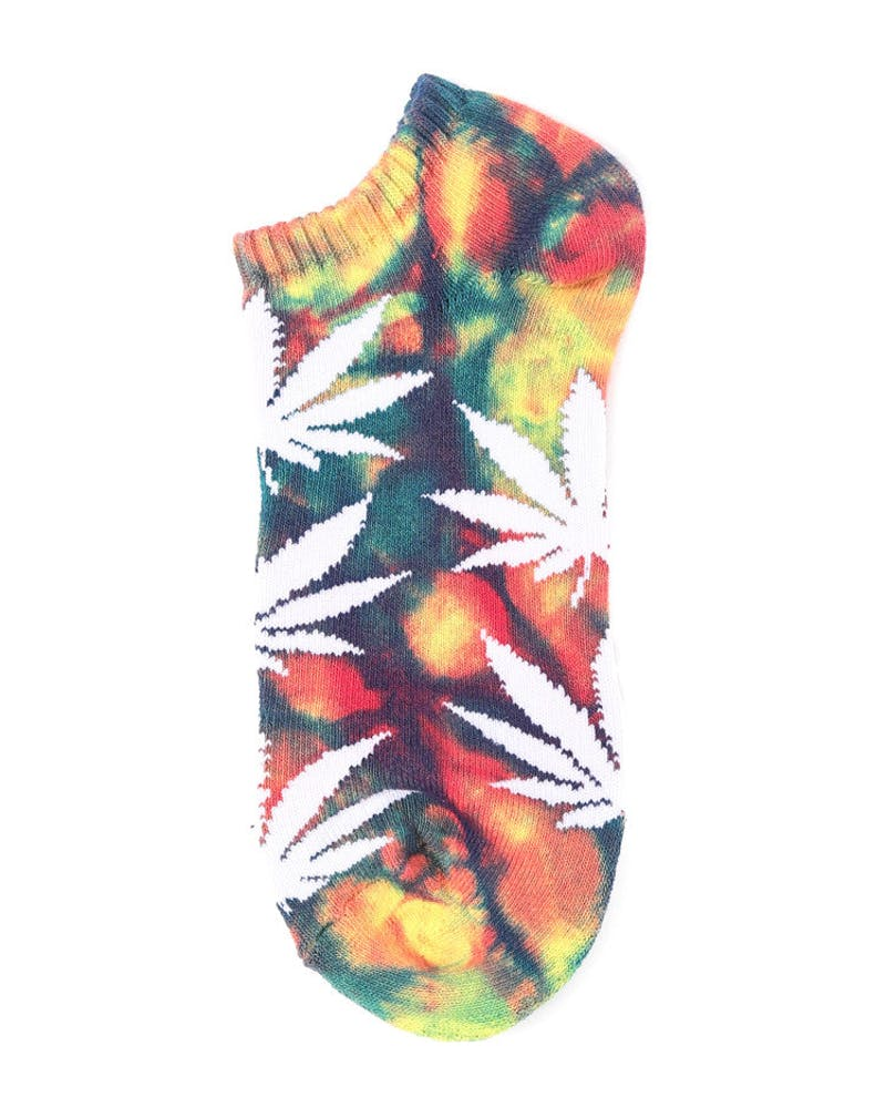 Tie Dye Plantlife Ankle Yellow/blue/red