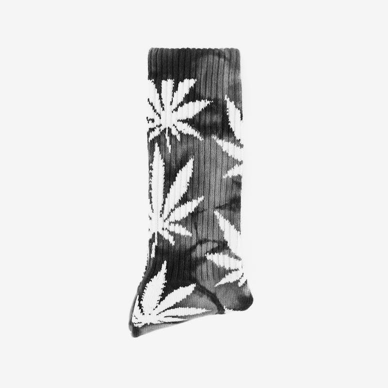 Tie Dye Plantlife Sock Black/grey