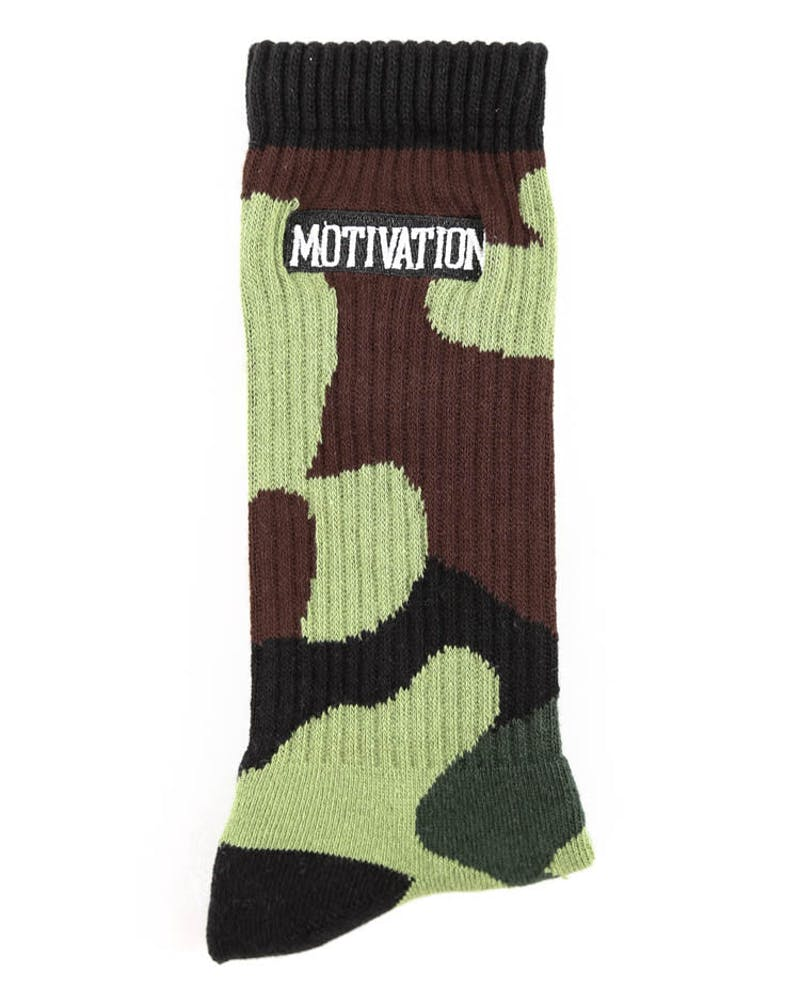 Motivation Camo Socks Camo
