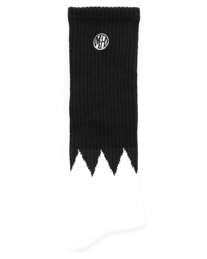 Mellowhype Block Sock Black