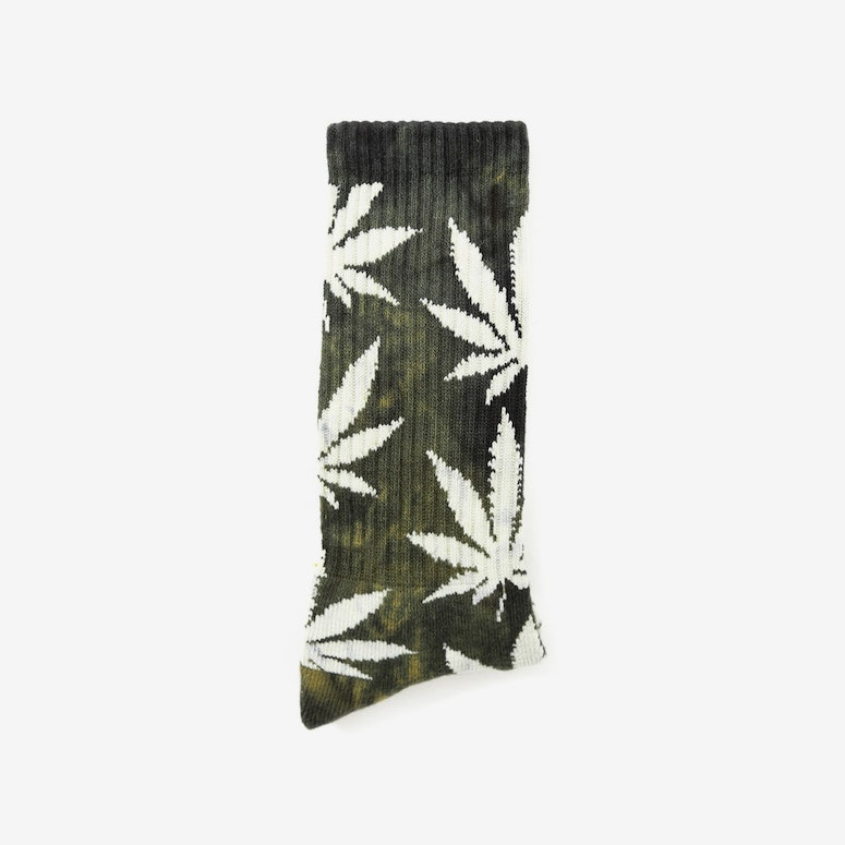 Tie Dye Plantlife Socks Gold/black