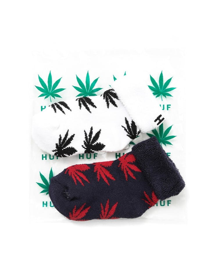 Seed Socks 2 Pack Navy/red/white/