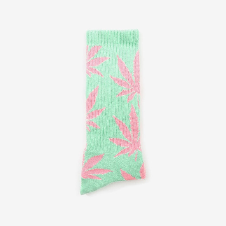 the Plantlife Socks 4 Sage/pink