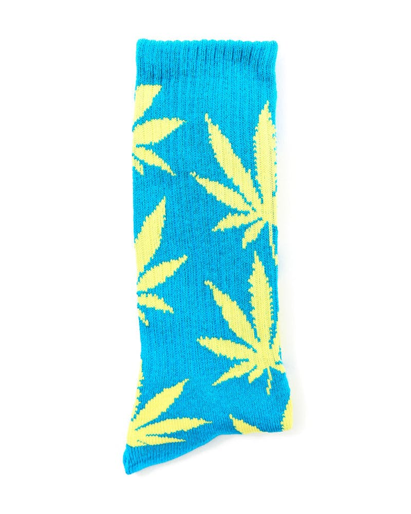 Glow in the Dark Sock Blue/yellow