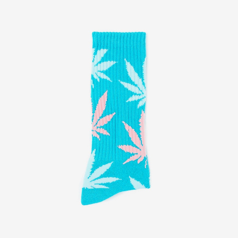 the Plantlife Socks 5 Turquoise/blue/